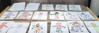 Pattingham Scarecrow Festival Colouring Competition